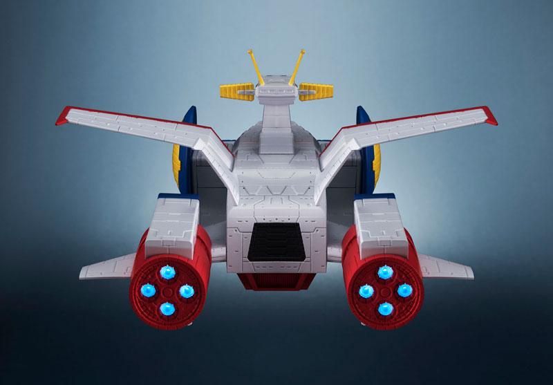 輝艦大全『ペガサス級強襲揚陸艦2番艦 ホワイトベース』機動戦士ガンダム 1/1700 完成品モデル-003