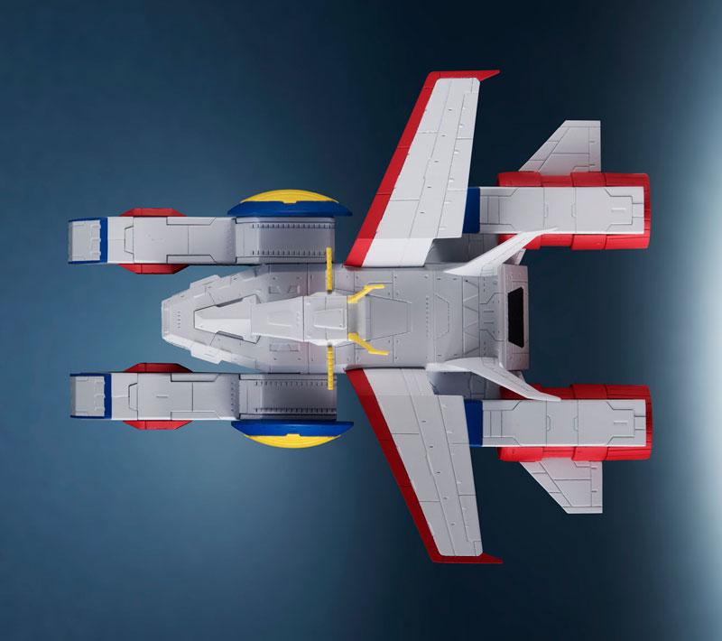 輝艦大全『ペガサス級強襲揚陸艦2番艦 ホワイトベース』機動戦士ガンダム 1/1700 完成品モデル-004