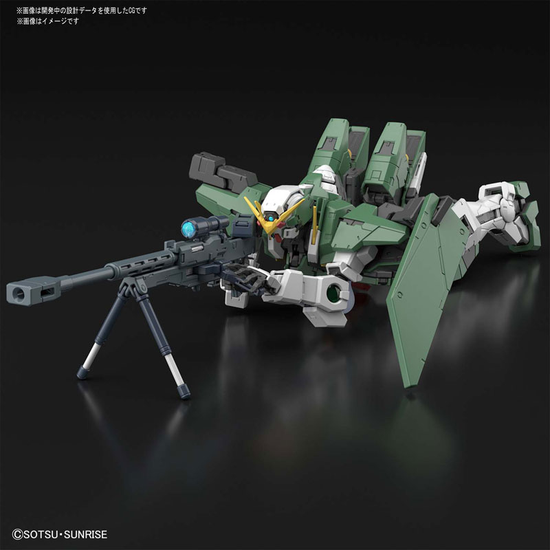 MG 1/100『ガンダムデュナメス』機動戦士ガンダム00 プラモデル-005