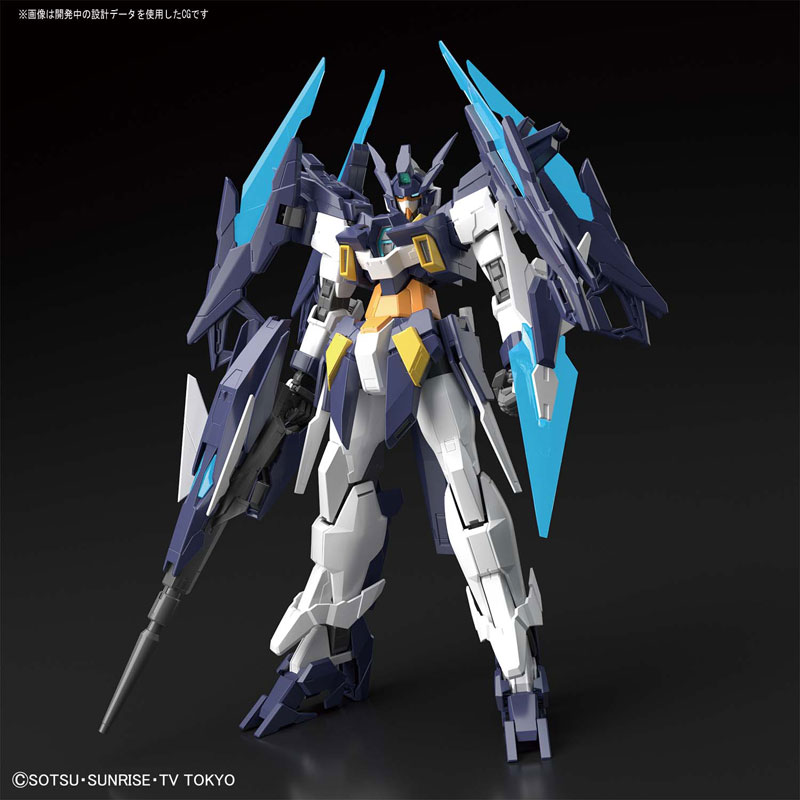 MG 1/100『ガンダムAGEIIマグナム』ガンダムビルドダイバーズ プラモデル-002