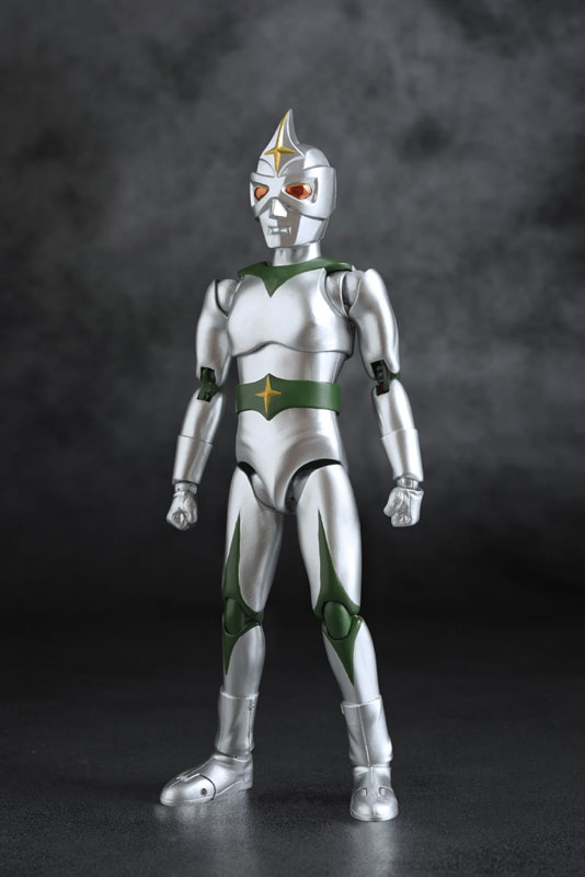 HAF(ヒーローアクションフィギュア)『ミラーマン』可動フィギュア-002