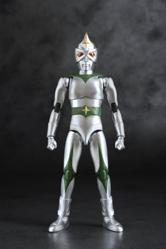 HAF(ヒーローアクションフィギュア)『ミラーマン』可動フィギュア-003
