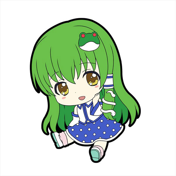東方Project『ぺたん娘トレーディングラバーストラップvol.2』10個入りBOX-006