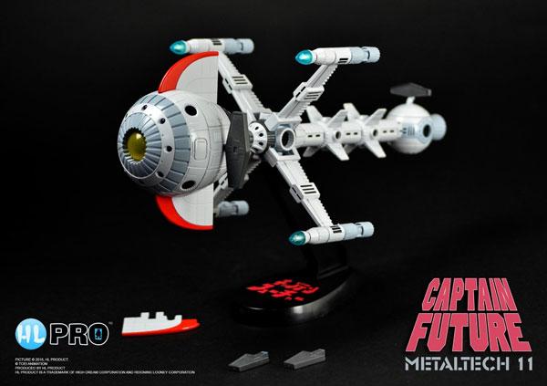 メタルテック11『フューチャーコメット号』キャプテンフューチャー 完成品モデル-001