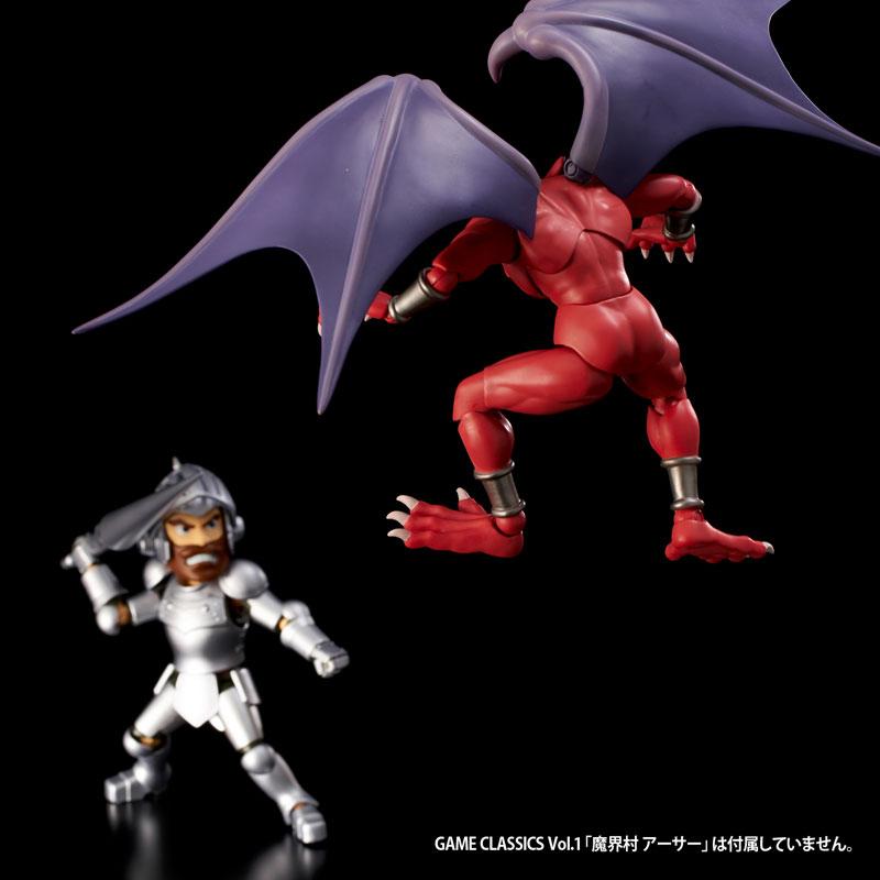 GAME・CLASSICS vol.3『魔界村 レッドアリーマー』可動フィギュア-011