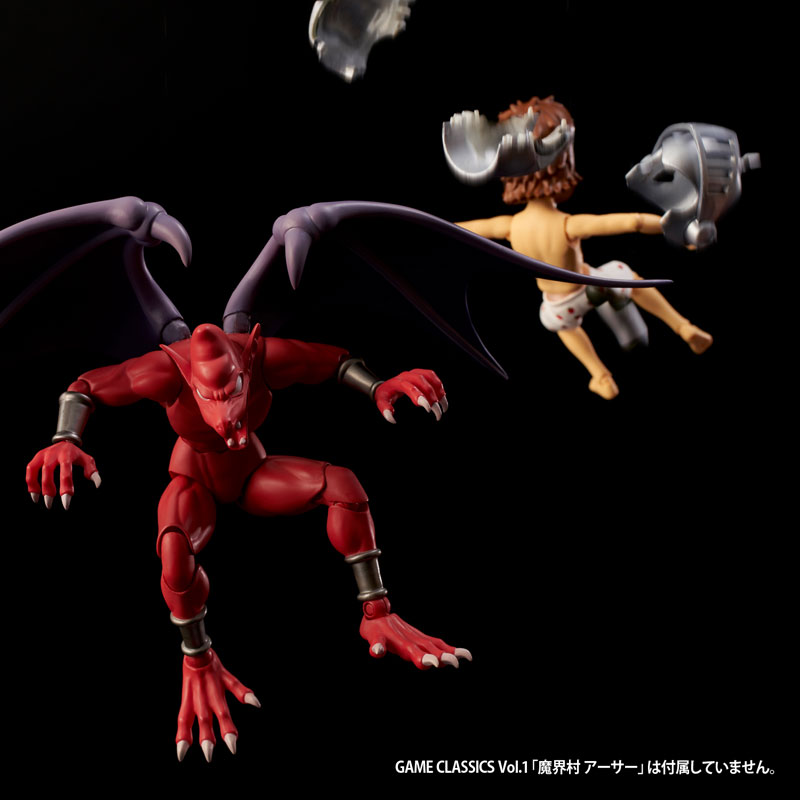 GAME・CLASSICS vol.3『魔界村 レッドアリーマー』可動フィギュア-013
