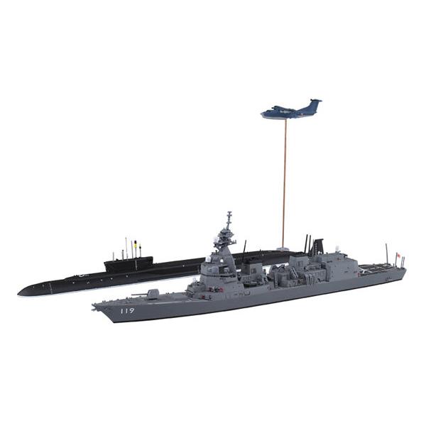 1/700『ウォーターライン 海上自衛隊護衛艦 DD-119 あさひ SP』プラモデル