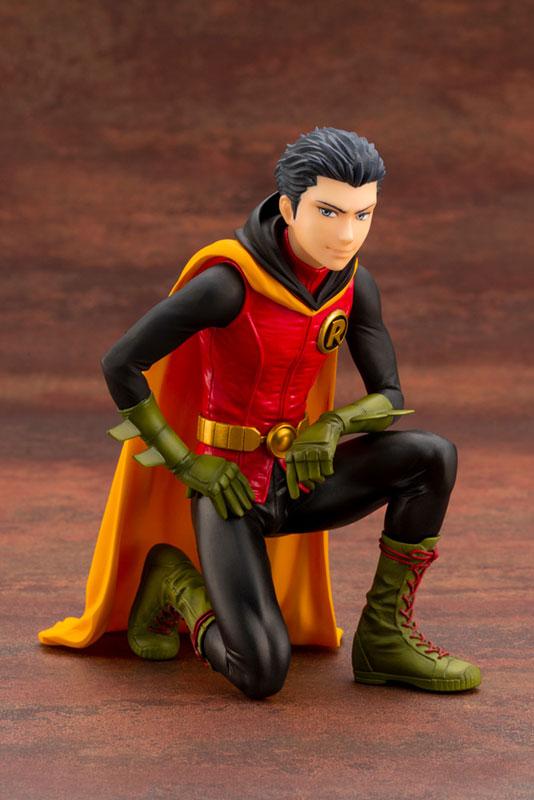 IKEMEN DC UNIVERSE『ダミアン ロビン|初回生産限定パーツ付属版』DCコミックス 1/7 完成品フィギュア-001