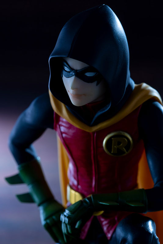 IKEMEN DC UNIVERSE『ダミアン ロビン|初回生産限定パーツ付属版』DCコミックス 1/7 完成品フィギュア-014