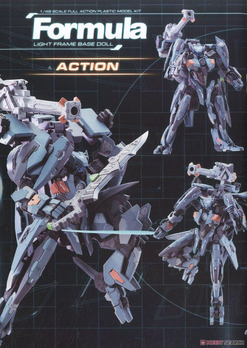 【再販】ゼノブレイドクロス『フォーミュラ』1/48 プラモデル-021