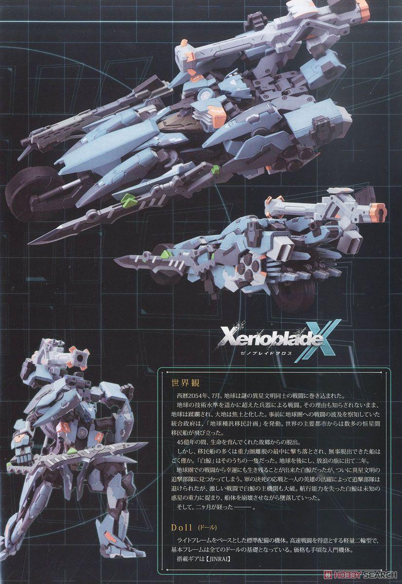 【再販】ゼノブレイドクロス『フォーミュラ』1/48 プラモデル-022