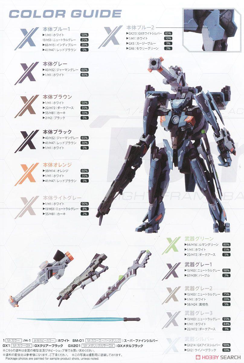 【再販】ゼノブレイドクロス『フォーミュラ』1/48 プラモデル-023