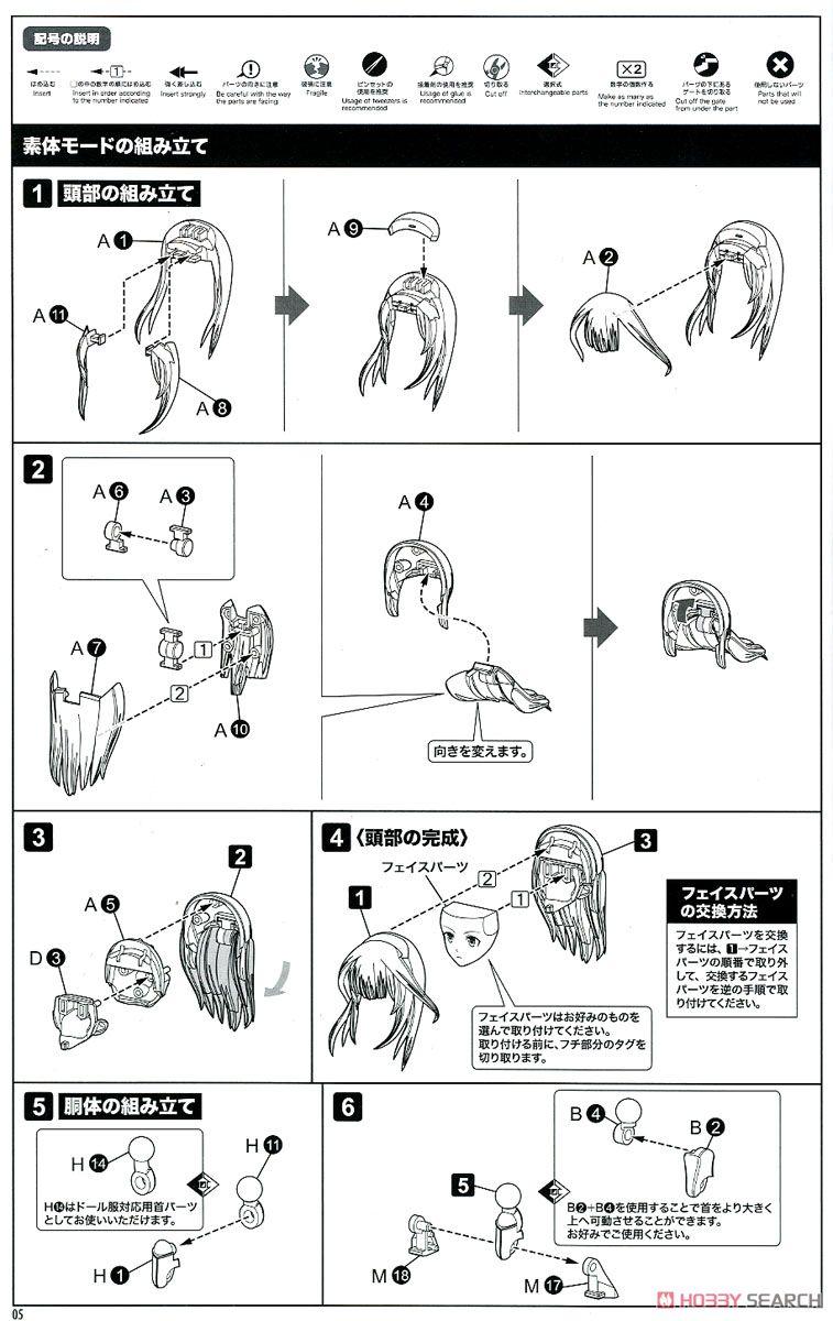 【再販】メガミデバイス × アリス・ギア・アイギス『吾妻楓』プラモデル-027