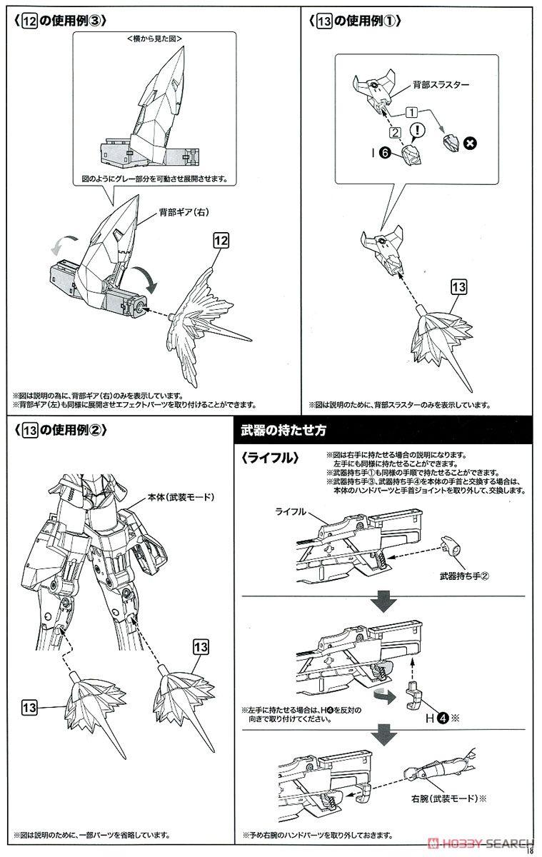【再販】メガミデバイス × アリス・ギア・アイギス『吾妻楓』プラモデル-040