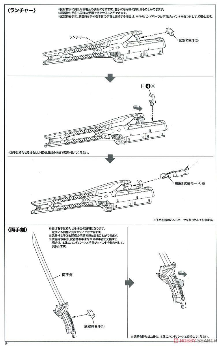 【再販】メガミデバイス × アリス・ギア・アイギス『吾妻楓』プラモデル-041