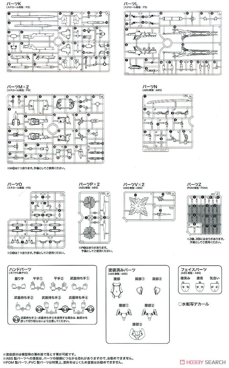 【再販】メガミデバイス × アリス・ギア・アイギス『吾妻楓』プラモデル-044