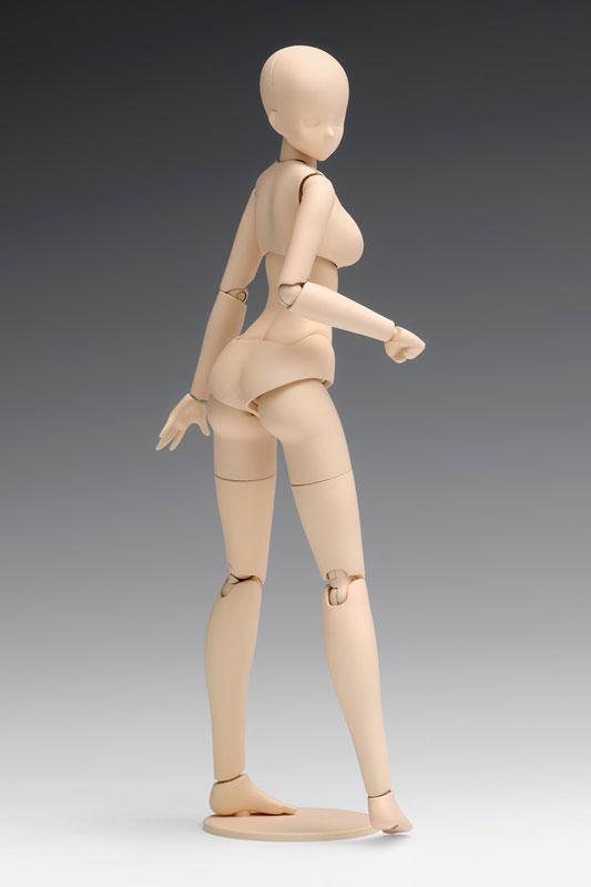 1/12スケール『ムーバブルボディ 女性型〔スタンダード〕』プラモデル-001