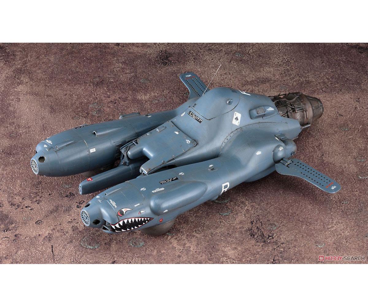 マシーネンクリーガー『反重力装甲戦闘機 Pkf.85 ファルケ I型乙』1/20 プラモデル-001