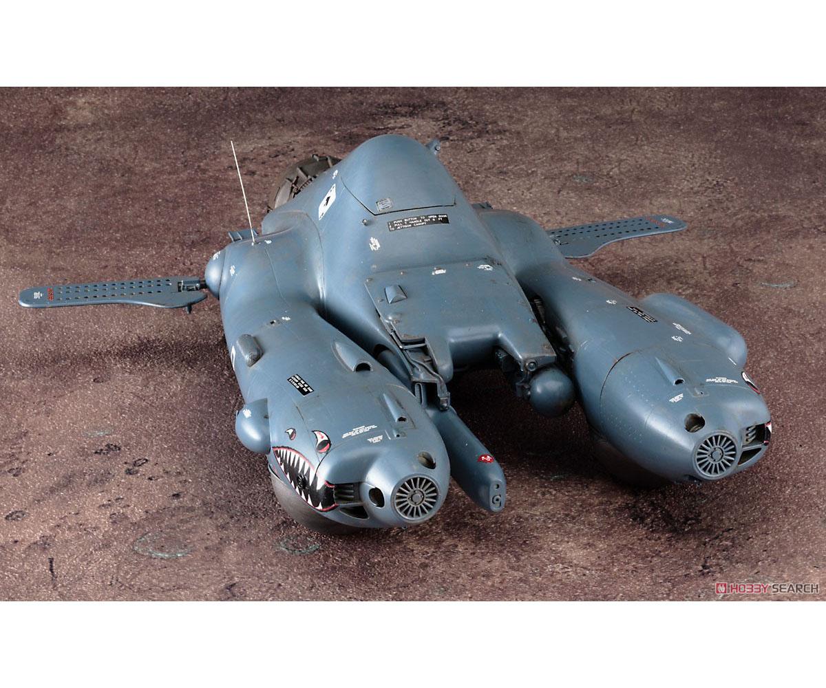 マシーネンクリーガー『反重力装甲戦闘機 Pkf.85 ファルケ I型乙』1/20 プラモデル-002