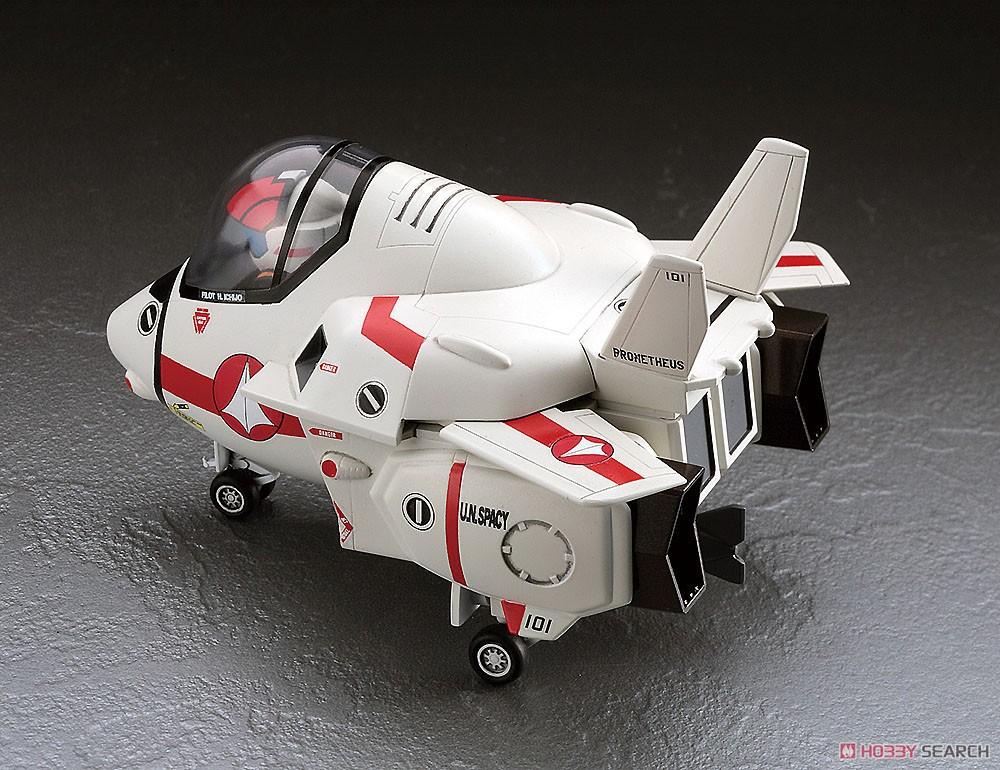 超時空要塞マクロス『リン・ミンメイ(チャイナドレス)/VF-1J バルキリー(たまごひこーき)』1/24 プラモデル-006