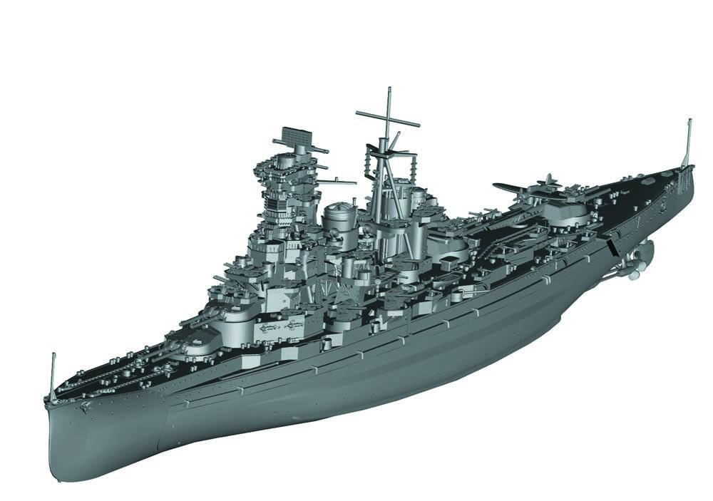 1/700 艦NEXTシリーズ No.15『日本海軍戦艦 榛名 昭和19年/捷一号作戦』プラモデル-002