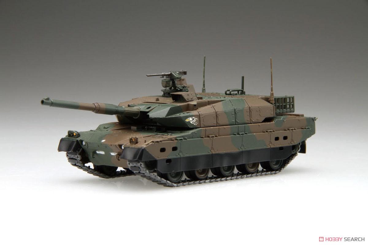 1/72 ミリタリーシリーズ No.10『陸上自衛隊 10式戦車 2両セット』プラモデル-001