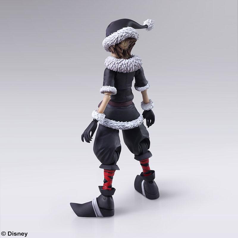 BRING ARTS『ソラ クリスマスタウンVer.』キングダムハーツ II 可動フィギュア-002