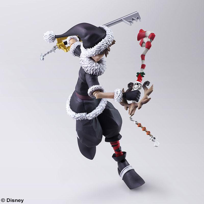 BRING ARTS『ソラ クリスマスタウンVer.』キングダムハーツ II 可動フィギュア-006