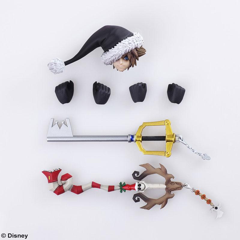 BRING ARTS『ソラ クリスマスタウンVer.』キングダムハーツ II 可動フィギュア-007