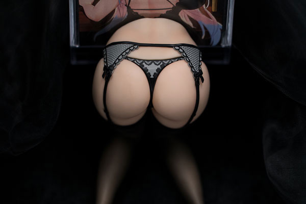 ケイタイ娘『モバイルスタンド 御姉さんVer. 赤いガーターベルト』1/6 完成品フィギュア-010