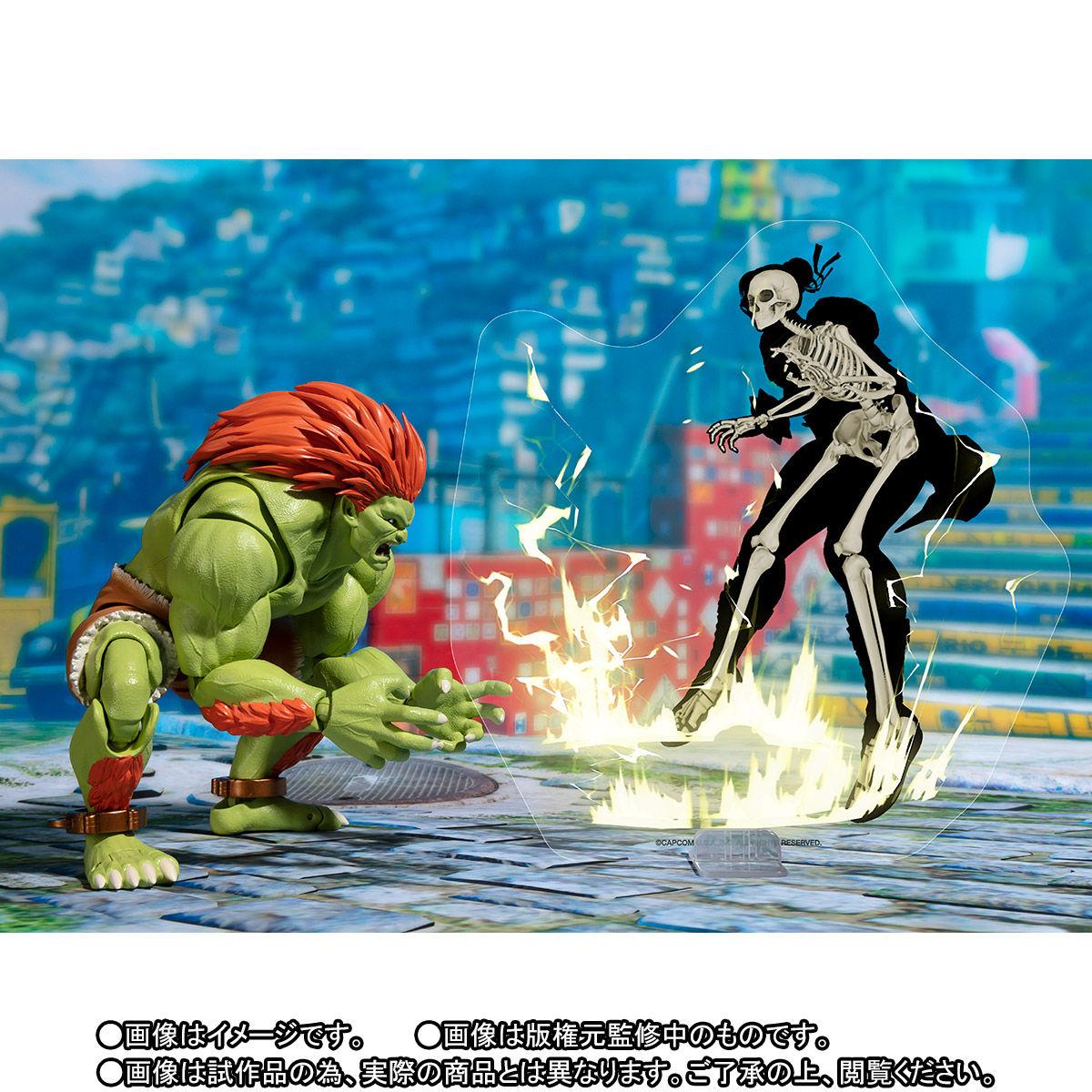 S.H.フィギュアーツ『ブランカ』ストリートファイターシリーズ 可動フィギュア-006