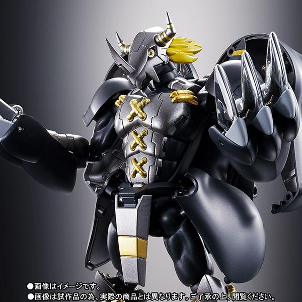 超進化魂 08『ブラックウォーグレイモン』デジモンアドベンチャー 可変可動フィギュア