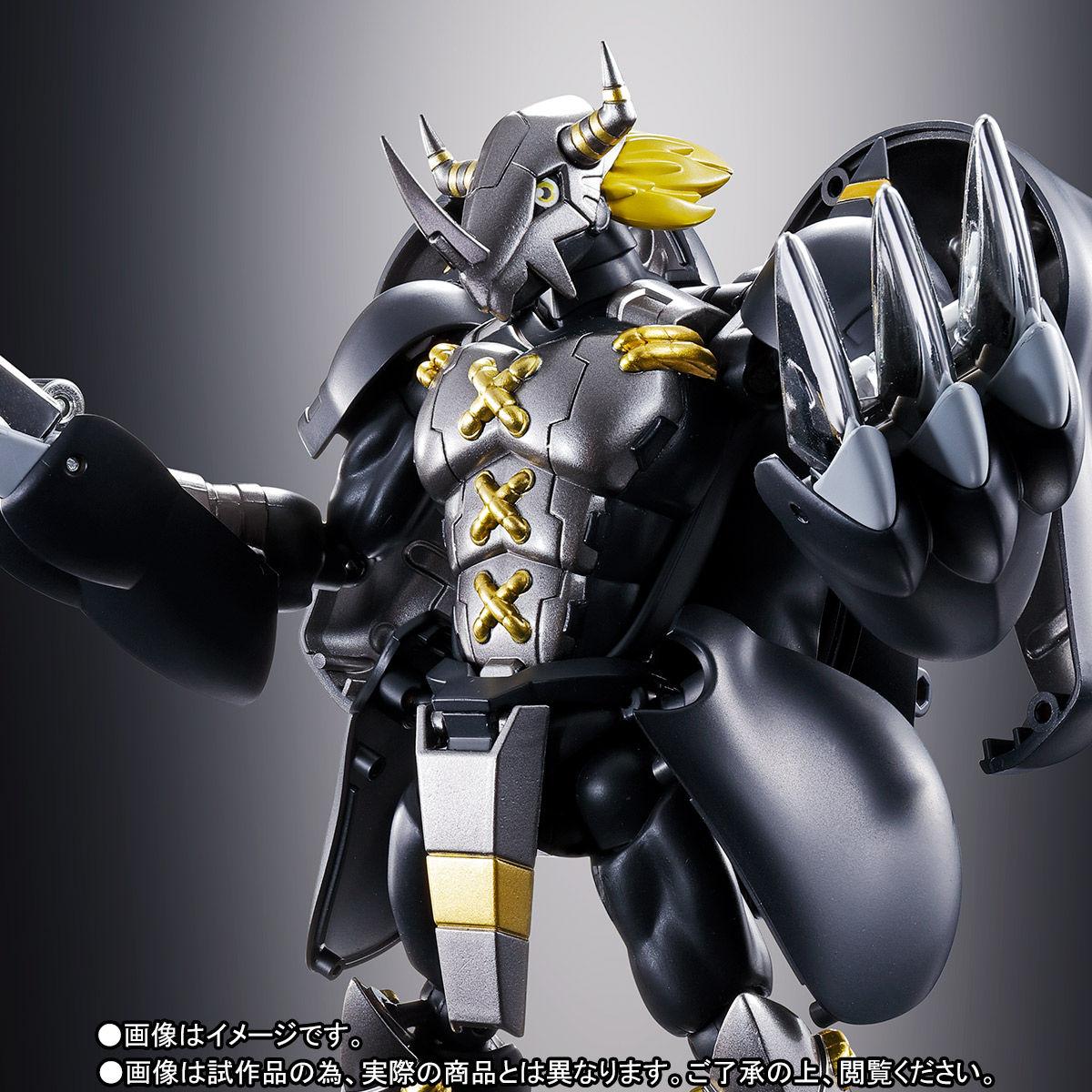 超進化魂 08『ブラックウォーグレイモン』デジモンアドベンチャー 可変可動フィギュア-001