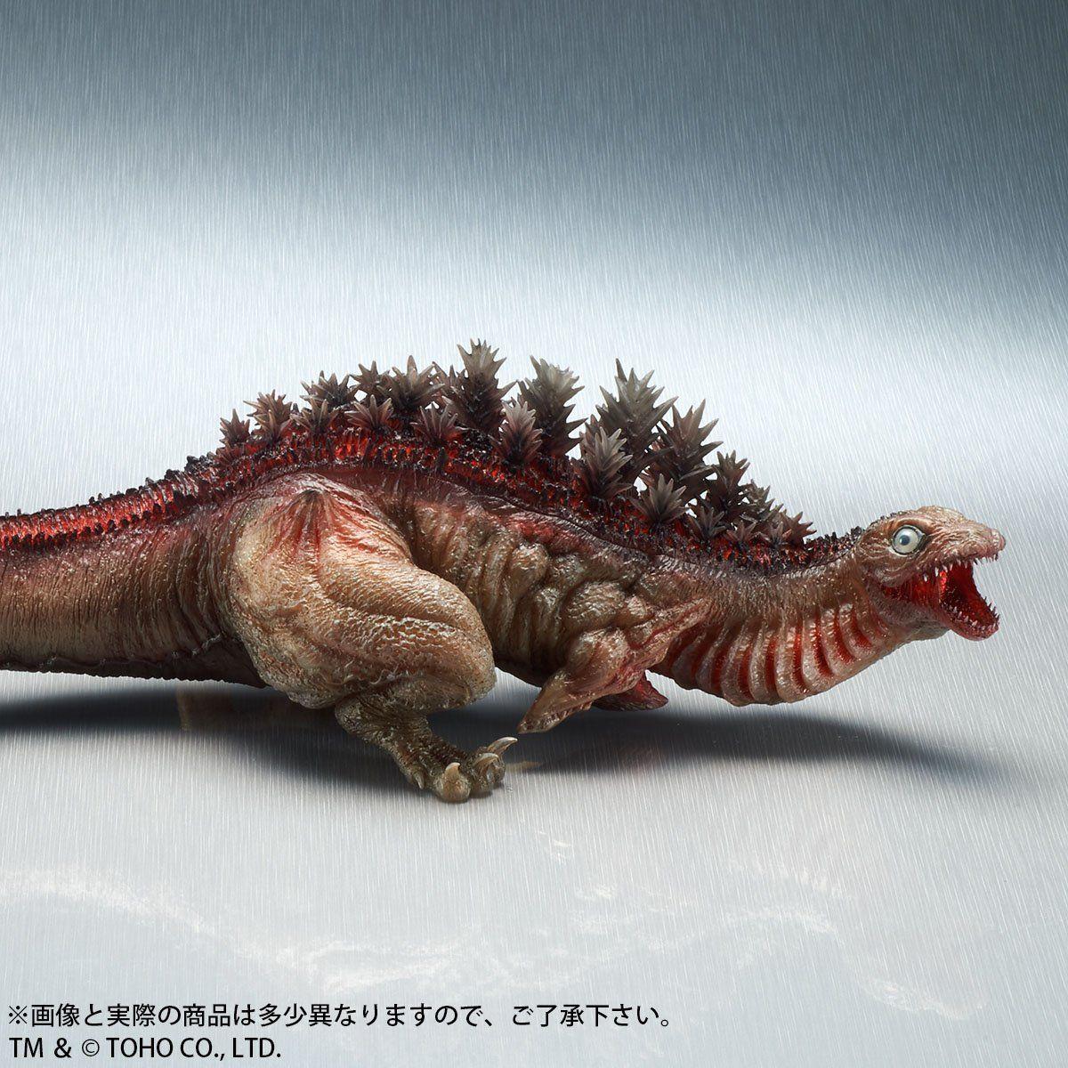 東宝大怪獣シリーズ『ゴジラ(2016)第2形態 クリアVer.』完成品フィギュア-004