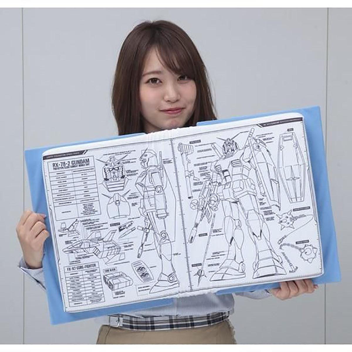 機動戦士ガンダム『V作戦マニュアルクッション』-010