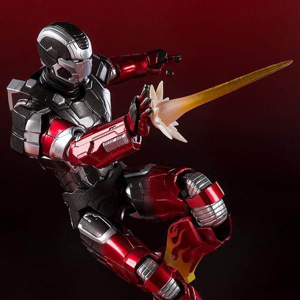 S.H.フィギュアーツ『アイアンマン マーク22 ホットロッド』アイアンマン3 可動フィギュア