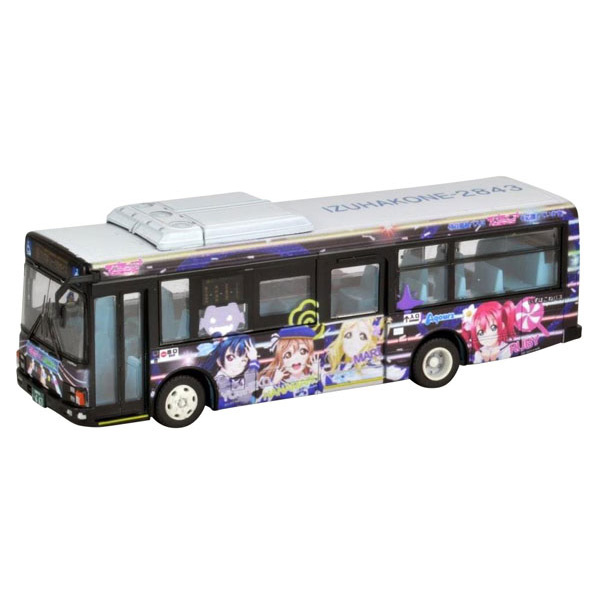 全国バスコレ 1/80『伊豆箱根バス ラブライブ!サンシャイン!! ラッピングバス3号車』HOゲージ