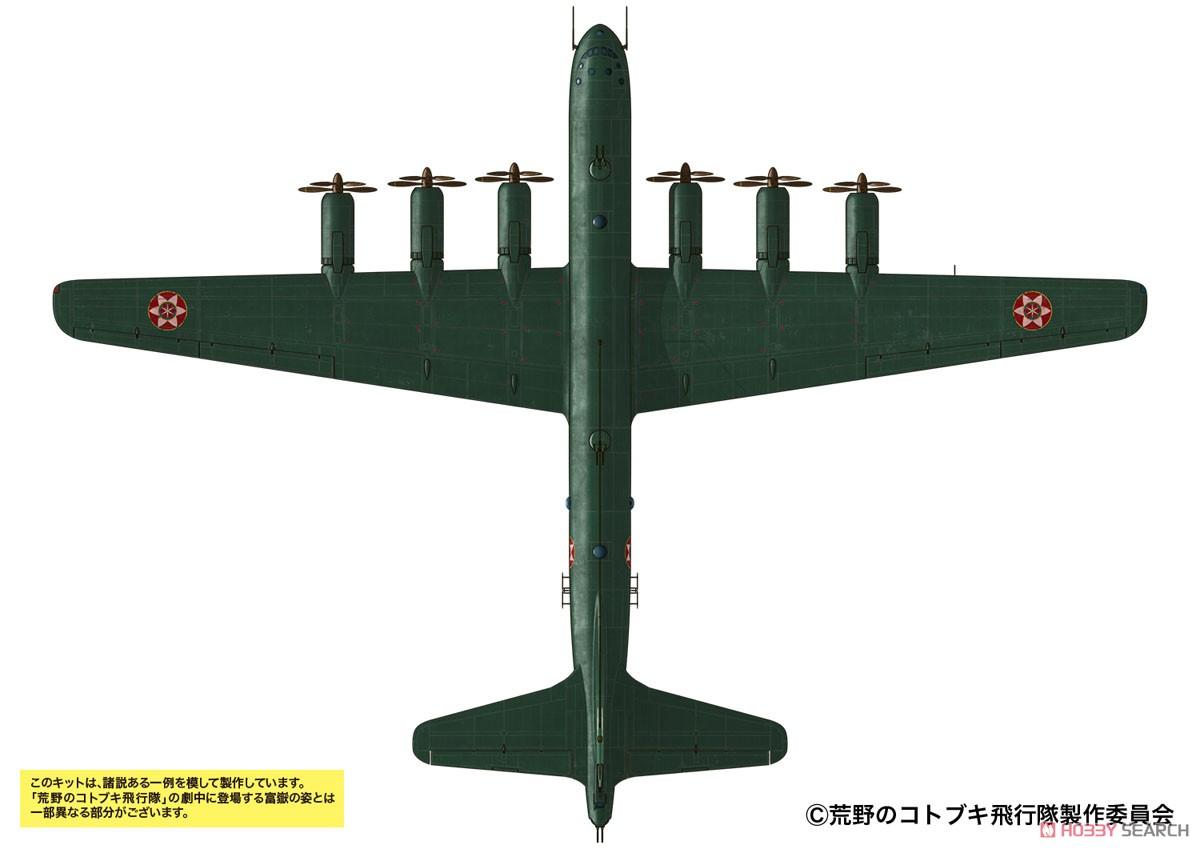 荒野のコトブキ飛行隊『富嶽 イケスカ所属機 仕様』1/48 プラモデル-002