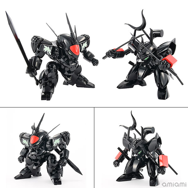 PLAMAX MS-04『ブラック 龍神丸・戦神丸 セット』魔神英雄伝ワタル プラモデル