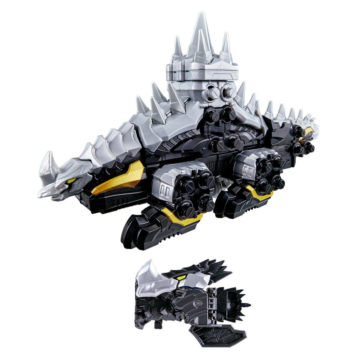 騎士竜戦隊リュウソウジャー『騎士竜シリーズ05 DXミルニードル』可変可動フィギュア-001