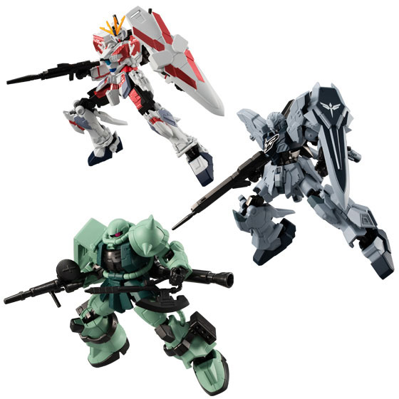 【食玩】機動戦士ガンダム『Gフレーム05』可動フィギュア 10個入りBOX