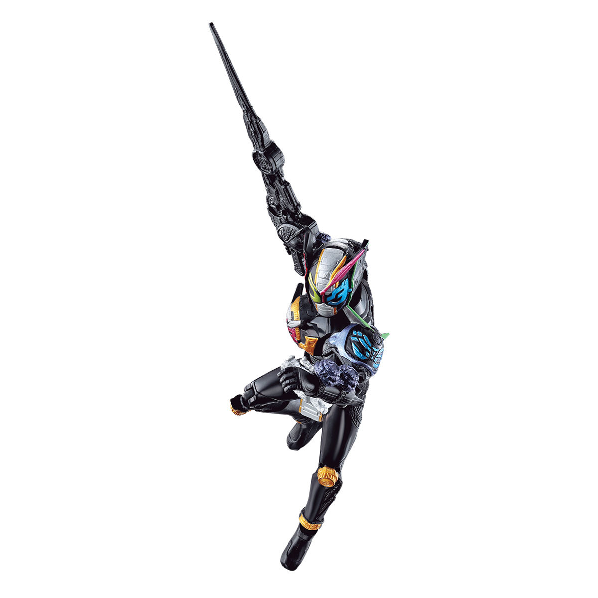 RKFライダーアーマーシリーズ『仮面ライダージオウトリニティ』可動フィギュア-002
