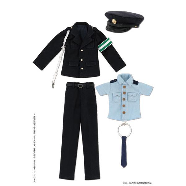 ピュアニーモサイズ コスチューム『PNS 男性警察官セット ダークネイビー』1/6 ドール服