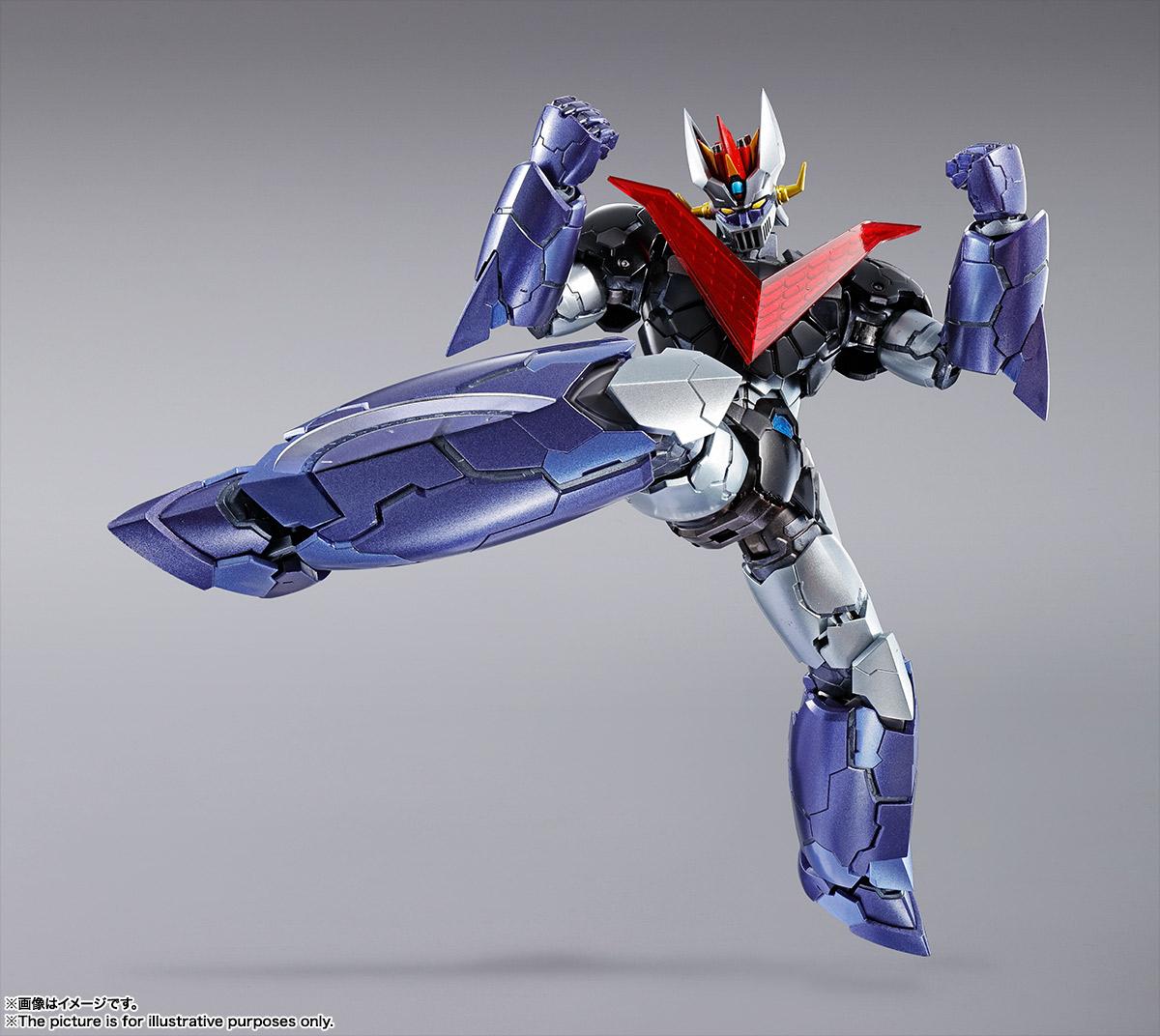 METAL BUILD『グレートマジンガー』マジンガーZ / INFINITY 可動フィギュア-002