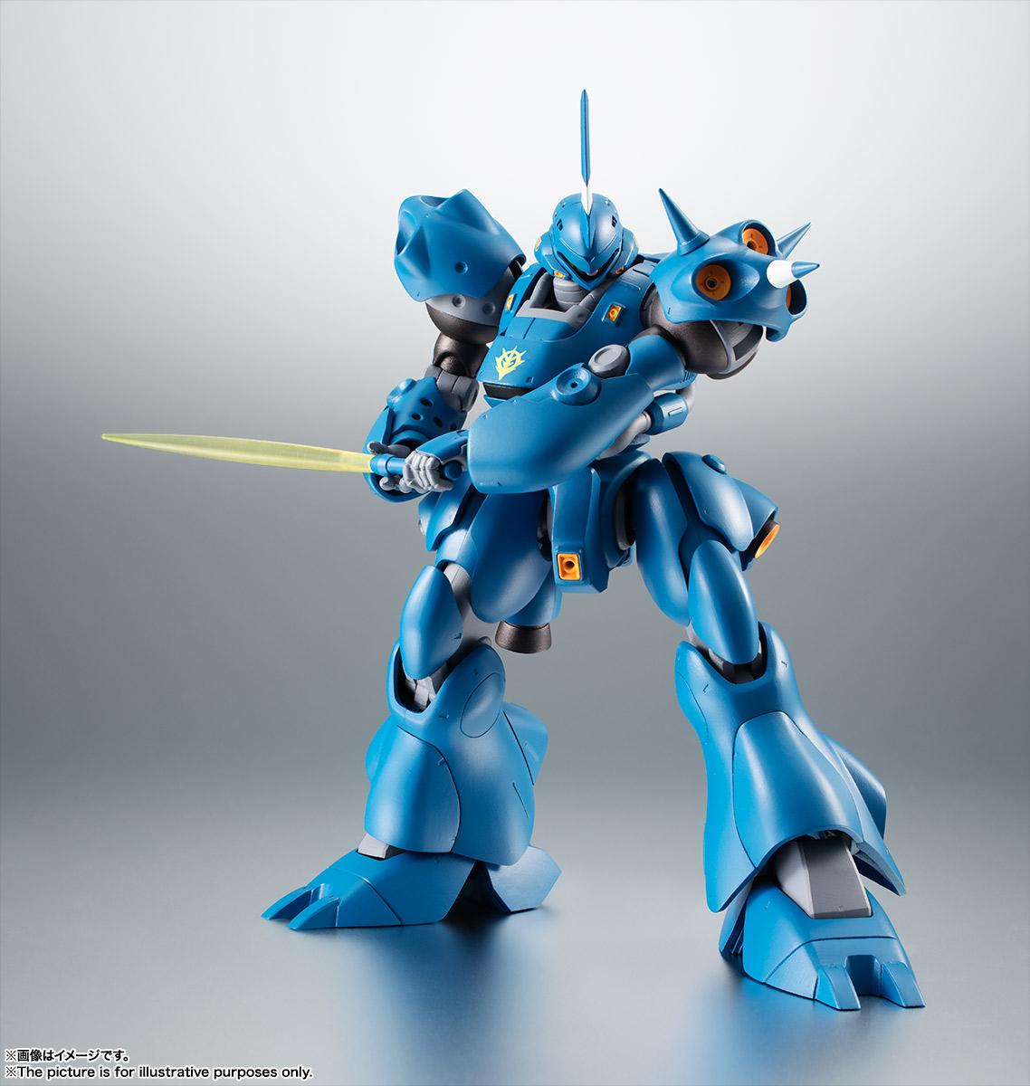ROBOT魂〈SIDE MS〉『MS-18E ケンプファー ver. A.N.I.M.E.』機動戦士ガンダム0080 ポケットの中の戦争 可動フィギュア-003