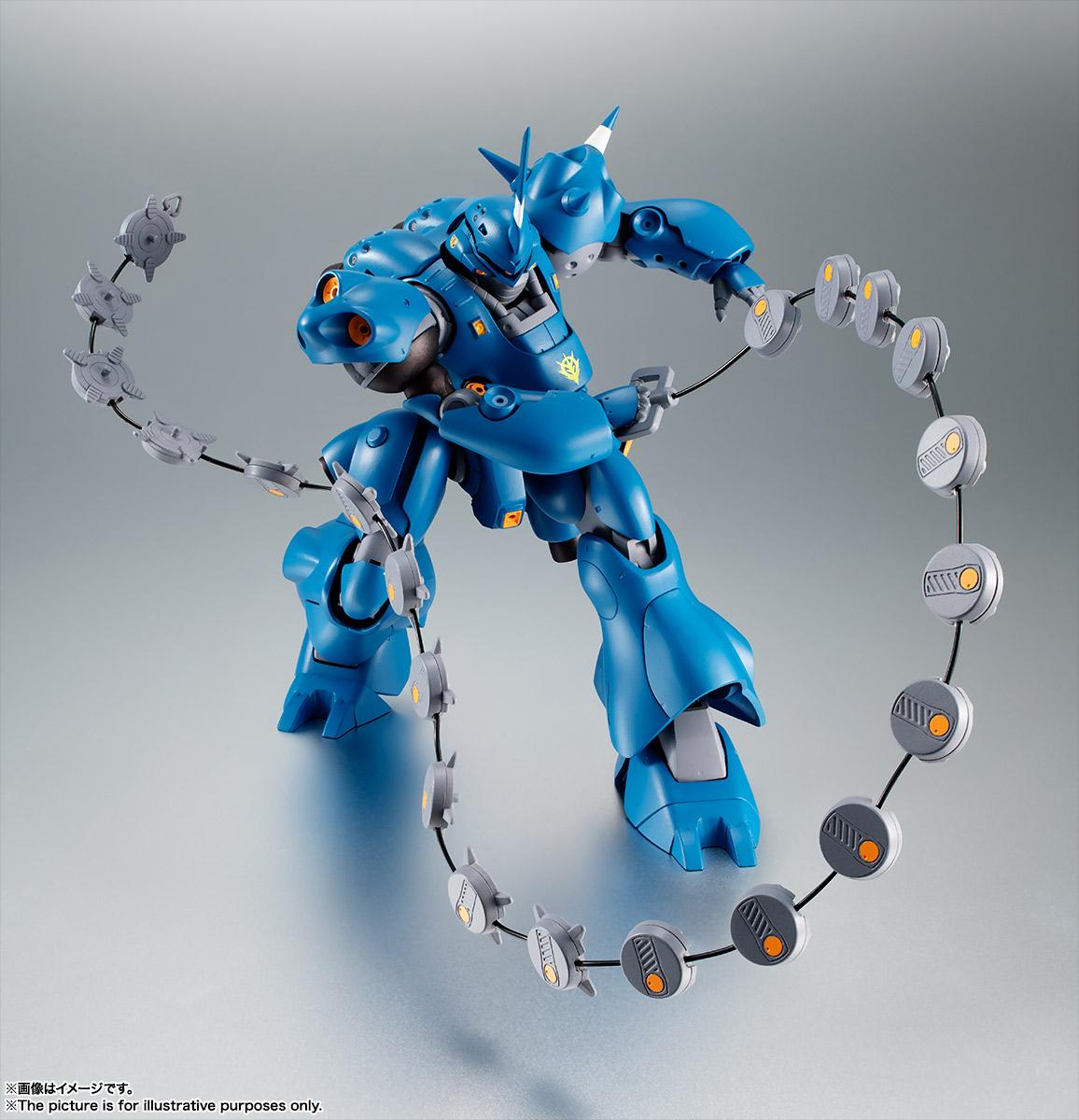 ROBOT魂〈SIDE MS〉『MS-18E ケンプファー ver. A.N.I.M.E.』機動戦士ガンダム0080 ポケットの中の戦争 可動フィギュア-005