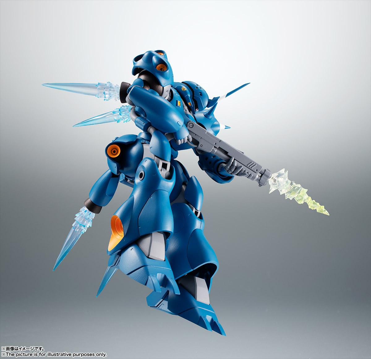 ROBOT魂〈SIDE MS〉『MS-18E ケンプファー ver. A.N.I.M.E.』機動戦士ガンダム0080 ポケットの中の戦争 可動フィギュア-006