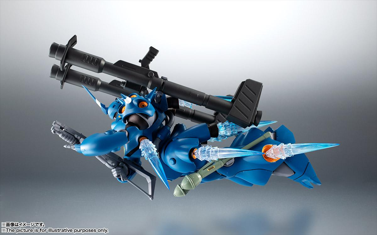 ROBOT魂〈SIDE MS〉『MS-18E ケンプファー ver. A.N.I.M.E.』機動戦士ガンダム0080 ポケットの中の戦争 可動フィギュア-007