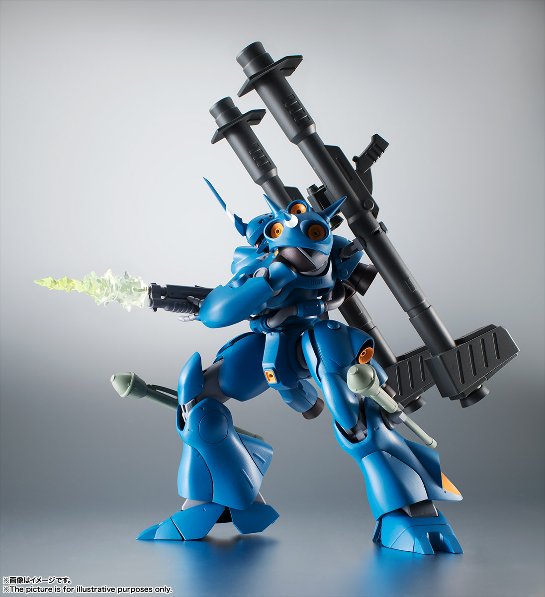 ROBOT魂〈SIDE MS〉『MS-18E ケンプファー ver. A.N.I.M.E.』機動戦士ガンダム0080 ポケットの中の戦争 可動フィギュア-008