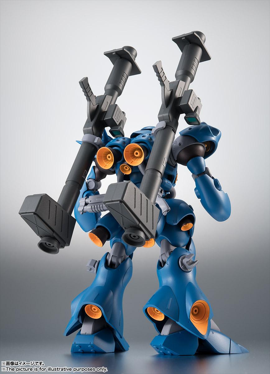 ROBOT魂〈SIDE MS〉『MS-18E ケンプファー ver. A.N.I.M.E.』機動戦士ガンダム0080 ポケットの中の戦争 可動フィギュア-009